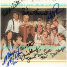 THE WALTONS CAST SIGNED AUTOGRAPHED 8x10 RP PHOTO by 10