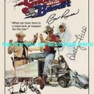 SMOKEY AND THE BANDIT CAST SIGNED AUTOGRAPH 8x10 RP PHOTO BURT REYNOLDS FIELDS REED AND GLEASON