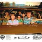 THE MIDDLE ALL 6 CAST AUTOGRAPHED 8x10 RP PUBLICITY PHOTO KATTAN HEATON FLYNN +