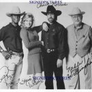 WALKER TEXAS RANGER FULL CAST AUTOGRAPHED AUTOGRAPH 8x10 RP PUBLICITY PHOTO CHUCK NORRIS +