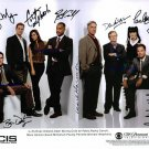NCIS CAST AUTOGRAPHED 8x10 RP PUBLICITY PHOTO by ALL 8  NEW FULL CAST