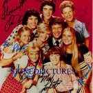 THE BRADY BUNCH CAST SIGNED AUTOGRAPHED 8x10 RP PHOTO ALL 8