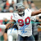 MARIO WILLIAMS AUTOGRAPHED 8x10 RP PHOTO TEXANS