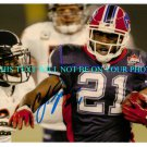 CJ SPILLER AUTOGRAPHED 8x10 RP PHOTO BUFF BILLS C J