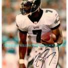 MICHAEL VICK SIGNED AUTOGRAPHED 8x10 RP PHOTO PHIL EAGLES QB