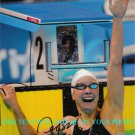 JESSICA HARDY AUTOGRAPHED 8x10 RP PHOTO SWIMMING WORLD RECORD HOLDER