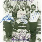 THE LOVE BOAT CAST AUTOGRAPHED 8X10 RP PHOTO by ALL 7