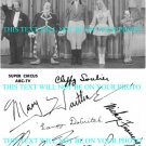 SUPER CIRCUS CAST AUTOGRAPHED 8x10 RP PHOTO MARY HARTLINE CLAUDE KIRCHNER +