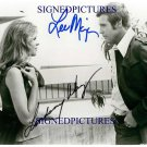 LEE MAJORS AND LINDSAY WAGNER AUTOGRAPHED SIGNED AUTOGRAM 8x10 RP PHOTO BIONIC WOMAN SIX MILLION