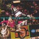 JEREMY MCGRATH SIGNED AUTOGRAPH AUTOGRAPHED 8x10 RP PHOTO X GAMES RACING