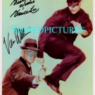 THE GREEN HORNET AUTOGRAPHED 8x10 RP PHOTO VAN WILLIAMS AND BRUCE LEE