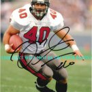 MIKE ALSTOTT SIGNED AUTOGRAPHED 8x10 RP PHOTO TAMPA BAY BUCCANEERS