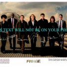 FRINGE FULL CAST AUTOGRAPHED SIGNED AUTOGRAM 8x10 RP PHOTO NOBLE JACKSON TORV REDDICK +