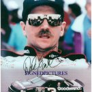 DALE EARNHARDT SR AUTOGRAPHED 8X10 RP PHOTO #3 NASCAR LEGEND
