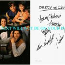 PARTY OF FIVE CAST AUTOGRAPHED 6x9 RP PROMO PHOTO NEVE CAMPBELL FOX CHABERT +