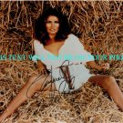 RAQUEL WELCH AUTOGRAPHED 8x10 RP PHOTO BEAUTIFUL