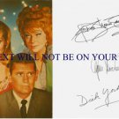 BEWITCHED CAST AUTOGRAPHED 6x8 RP PROMO PHOTO MONTGOMERY MOORHEAD AND YORK