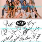 MELROSE PLACE CAST AUTOGRAPHED 8x10 RP PROMO PHOTO LOCKLEAR MILANO SHUE WAGNER +
