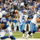 KERRY COLLINS AUTOGRAPHED AUTO 8x10 RP PHOTO TENNESSEE TITANS QB