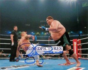 ROYCE GRACIE SIGNED AUTOGRAPHED 8X10 RP PHOTO UFC CHAMPION