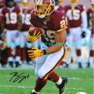 ROY HELU AUTOGRAPHED 8x10 RP PHOTO WASHINGTON REDSKINS