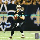DREW BREES AUTOGRAPHED 8x10 RP PHOTO N.O. SAINTS INCREDIBLE MVP QB