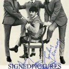 THE BEATLES GROUP AUTOGRAPHED 8x10 RP PROMO PHOTO GEORGE PAUL RINGO AND JOHN