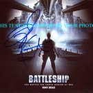 TAYLOR KITSCH AUTOGRAPHED 8x10 RP PHOTO BATTLESHIP