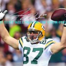 JORDI NELSON AUTOGRAPHED 8x10 RP PHOTO GREEN BAY PACKERS
