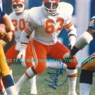 WILLIE LANIER AUTOGRAPHED 8x10 RP PHOTO KANSAS CITY CHIEFS