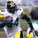 RASHARD MENDENHALL AUTOGRAPHED 8x10 RP PHOTO PITTSBURGH STEELERS RB