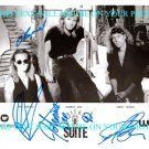 HONEYMOON SUITE AUTOGRAPHED 8x10 RP PHOTO JOHNNIE DEE NEW GIRL NOW LETHAL WEAPON