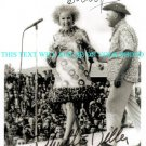 PHYLLIS DILLER AND BOB HOPE AUTOGRAPHED 8x10 RP PHOTO USO  GREAT COMEDIANS