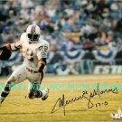MERCURY MORRIS AUTOGRAPHED 8x10 RP PHOTO MIAMI DOLPHINS