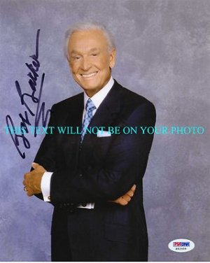 BOB BARKER AUTOGRAPHED 8x10 RP PHOTO THE PRICE IS RIGHT LEGENDARY HOST