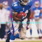 AHMAD BRADSHAW SIGNED AUTOGRAPHED 8x10 RP PHOTO NEW YORK GIANTS INCREDIBLE RB