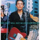 JAKOB DYLAN AUTOGRAPHED 8x10 RP PHOTO THE WALLFLOWERS