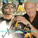 TERRY BRADSHAW SIGNED AUTOGRAPHED 8x10 RP PHOTO PITTSBURGH STEELERS QB