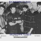 SOUNDGARDEN GROUP BAND AUTOGRAPHED 8x10 RP PHOTO ALL 4 OUTSHINED