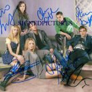 GOSSIP GIRL CAST AUTOGRAPHED 8x10 RP PHOTO BLAKE CHASE LEIGHTON +