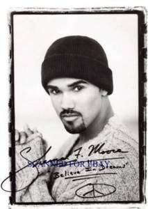 SHEMAR MOORE SIGNED AUTOGRAPHED 8x10 RP PHOTO CRIMINAL MINDS  SO SUAVE