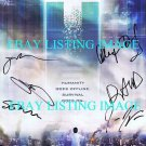 H+ THE DIGITAL SERIES CAST AUTOGRAPHED RP PHOTO BY 6 ALEX DENISOF SEAN GUNN + H