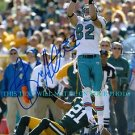 BRIAN HARTLINE AUTO AUTOGRAPHED 8x10 RP PHOTO MIAMI DOLPHINS WR