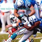 DWIGHT FREENEY AUTOGRAPHED AUTO 8x10 RP PHOTO MIAMI DOLPHINS
