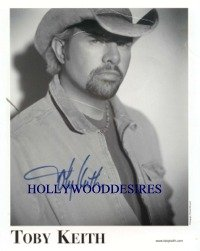 TOBY KEITH SIGNED AUTOGRAPHED 8x10 RP PHOTO COUNTRY MUSIC GREAT SINGER