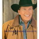 GEORGE STRAIT SIGNED AUTOGRAM 8x10 RP PROMO PHOTO PURE COUNTRY STAR