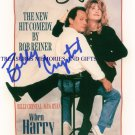 WHEN HARRY MET SALLY SIGNED RP BILLY CRYSTAL & MEG RYAN