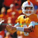 TYLER BRAY AUTO AUTOGRAPHED 8x10 RP PHOTO TENNESSEE QB