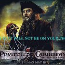 IAN MCSHANE AUTOGRAPHED 8x10 RP PHOTO PIRATES OF THE CARIBBEAN BLACKBEARD