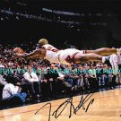 DENNIS RODMAN AUTO AUTOGRAPHED 8x10 RP PHOTO CHICAGO BULLS THE SAVE